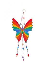 Rainbow <b>Butterfly</b> Stained Glass Effect Suncatcher - <b>Beautiful</b> ...