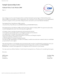 doc 732894 sample of a sponsorship letter sponsorship proposal thank you letter sponsorship sample sample of a sponsorship letter
