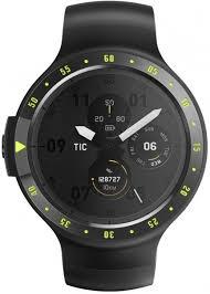Купить смарт-часы <b>Ticwatch S</b>, <b>черный</b> ремешок по низкой цене ...