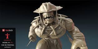Gambody STL files of Dota 2 <b>Bloodseeker</b> Strygwyr for 3D Printer