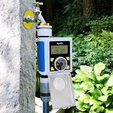 Digital <b>Garden Water Timer</b> Dial <b>LCD Screen</b> Automatic Electronic ...
