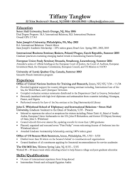 financial analyst resume archives writing resume sample finance student resume resume business student tiffany tanglow