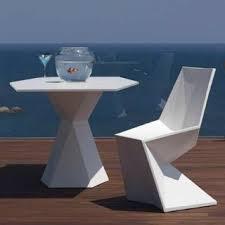 Vertex Outdoor <b>Bistro Table</b> and Chairs - Современный - Дворик ...