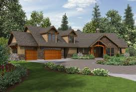 Craftsman  Ranch style house and House plans on Pinterest