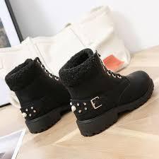 <b>ZALAVOR</b> Ankle <b>Snow Boots</b> For <b>Women</b> Winter Warm Plush Fur ...