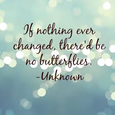 26 inspiring quotes about change beautiful life goes on and if nothing ever changed there d be no butterflies