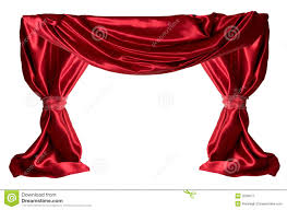 curtains red red curtains royalty free stock photography