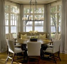 breakfast nook curtains on pinterest bay window blinds picture win small kitchen nook tables breakfast nook furniture ideas