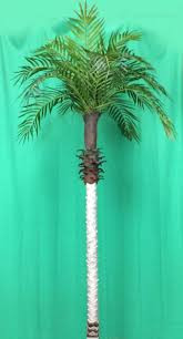 2 <b>Artificial Phoenix Palm Tree</b> 7' Plant Porch In Basket Pot Areca ...