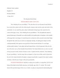 analysis essay analysis essay writing examples topics outlines    essay ad analysis rough draft the hyundai hubrid hypelambert robert curtis lambertenglish professor bolton