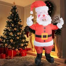Kids Adult <b>Christmas</b> Cosplay Jumpsuit <b>Outfits</b> Elk <b>Santa</b> Claus ...