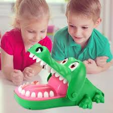 <b>Electric Crocodile</b> Mouth <b>Bite</b> Finger Game Kids Novelty Tricky Toys ...