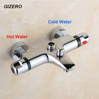 wall mounted thermostatic faucets bathroom shower mixer valve faucet brass black controller
