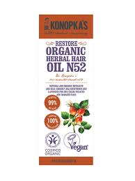 <b>Dr</b>. <b>Konopka's</b> organic herbal <b>hair</b> oil N52