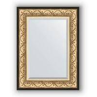 «<b>Зеркало</b> с фацетом в багетной раме <b>барокко</b> золото 60х80 <b>см</b> ...