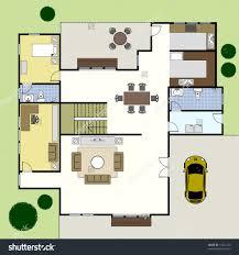 office large size ground floor plan floorplan house home building architecture blueprint layout preview save blueprints office desk preview save