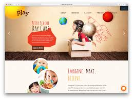 top colorful kindergarten wordpress themes colorlib kids play is wordpress theme fully dedicated to the little ones in the house it is a cheerful set up from anything related to kids and their growing