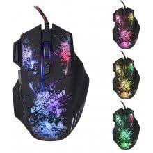 <b>imice Mice Wired Gaming</b> Mouse USB Gamer mouse 6 Buttons ...