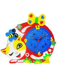 Котик - часы - <b>набор</b> для творчества из <b>Фоамирана</b> Color <b>KIT</b> ...