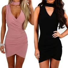 New Sexy Women Halter Dress Summer Sleeveless ... - Vova