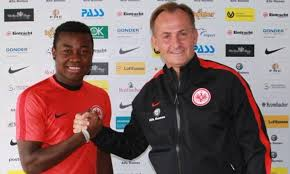 Nelson Mandela signs for German club Eintracht Frankfurt | Daily ...