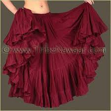 2016 New <b>Women</b> Tribal <b>Belly</b> Dance Skirt <b>12 Colors</b> Lady Gypsy ...