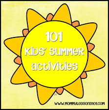 mommy lessons printables and tips for setting up a 101 fun summer ideas