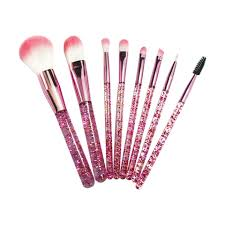 8pcs newest <b>hot</b> sale <b>cosmetic</b> brush Set & <b>nylon</b> hair and special ...