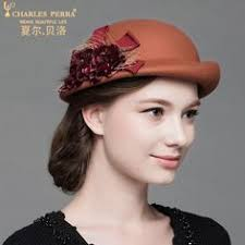 <b>Charles Perra</b> Women Fashion <b>Hat</b> 2018 NEW Winter England Style ...