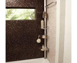 steel adjustable rod tension home bathroom