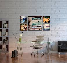 vintage decor clic: vintage car wall art vintage old classic car wall art office design executive elegant work place home volkswagen picture