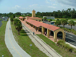 Image result for venice train station on the legacy trail