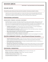 resume samples ace resume resume writer sharon