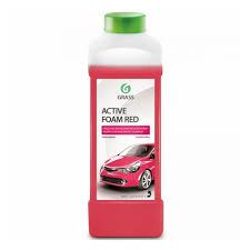 <b>Автошампунь GRASS Active</b> Foam Red для б/к мойки 1 л — купить ...