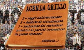 L'agenda Grillo