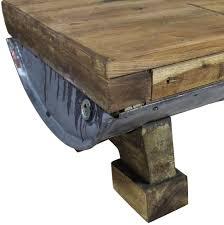 vidaXL <b>Solid Reclaimed</b> Wood <b>Coffee Table</b> 90x50x35cm Kitchen ...