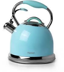 Fissman Felicity <b>Чайник для кипячения воды</b> 2,6 л аквамарин/18 ...