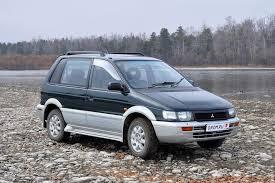 Народное ретро. <b>Mitsubishi</b> RVR (1991–1997 гг.). Компактвэн ...