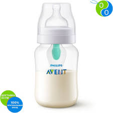 Philips Avent <b>Бутылочка</b> серии Anti-colic с <b>клапаном</b> Airfree 1 мес+ ...