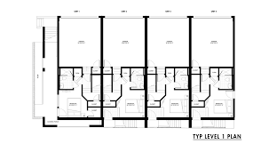 Gallery of Emerson Rowhouse   Meridian Architecture   Emerson Rowhouse Floor Plan