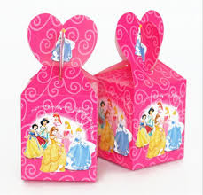 <b>6pcs</b>/lot Princess theme Cartoon paper bags <b>baby shower souvenirs</b> ...