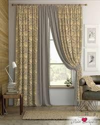 Классические шторы darrin цвет: фиолетово-золотой <b>томдом</b> из ...