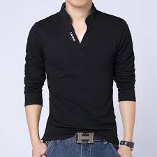 Large Size <b>5XL Spring Autumn Men's</b> Long Sleeve POLO Shirts ...