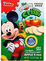 Brothers-All-Natural, <b>Fruit</b> Crisps, <b>Disney Junior</b>, Apples and ...