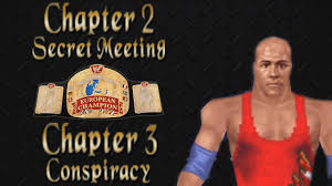 Kurt Angle European Title Chapter 2 amp 3 Secret Meeting. Kurt Angle European Title Chapter 2 amp 3 Secret Meeting amp Conspiracy WWF NO MERCY 64