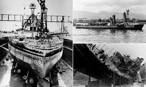 The 13 U.S. Navy ships that were RETURNED to service after Pearl ...