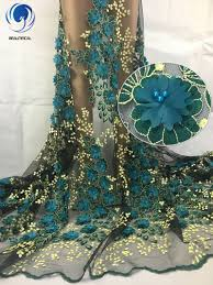 <b>BEAUTIFICAL</b> African <b>lace</b> fabrics army green 3d flowers tulle <b>lace</b> ...