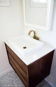 bathroom place vanity contemporary: mid century modern bathroom vanity adecabaafa mid century modern bathroom vanity