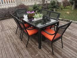 outdoor indoor rattan garden dining sets country style table set china outdoor rattan garden