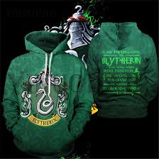 <b>Wizardry 3D Printed Hoodie</b> with Pocket Ravenclaw Gryffindor for ...